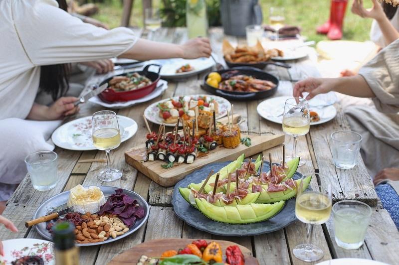 自分都合で野菜などヘルシーなおつまみが充実して良そうな居酒屋を選びます。