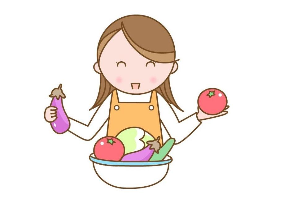 消化酵素を摂ろうと、キャベツとレタスの葉物野菜を中心に、お湯の50℃洗いで毎日サラダを食べるようにしました。