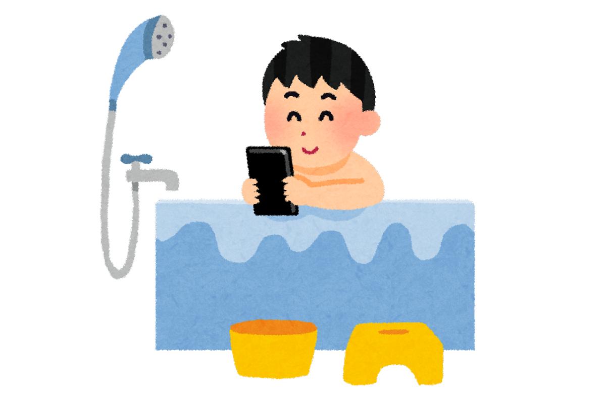 シャワーで済ませないでしっかり湯船に入り、体を温めるのも眠りが早くなる秘訣