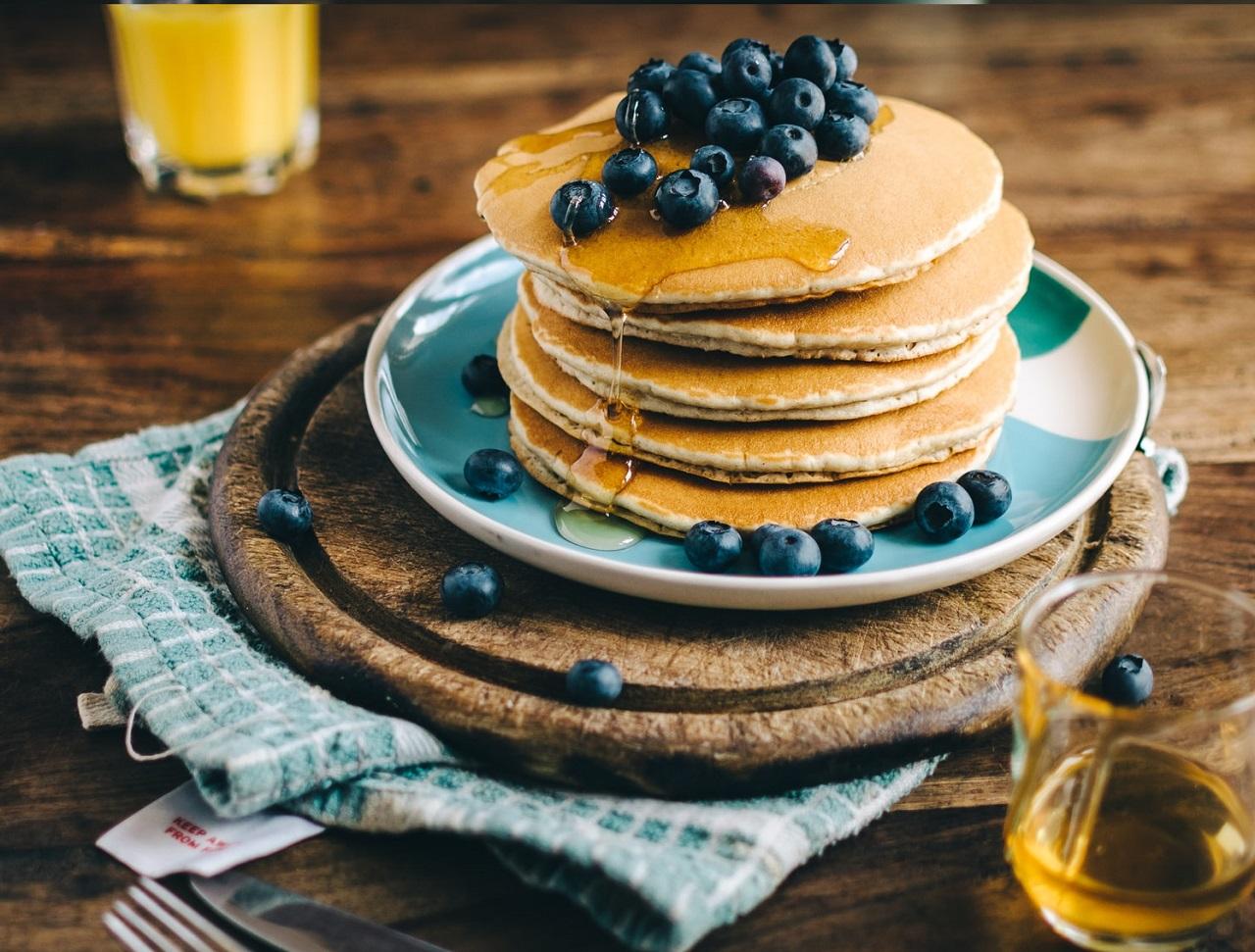 朝食は好きなものを食べる