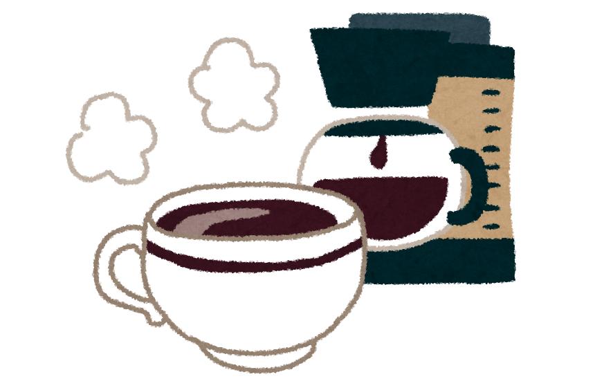 コーヒーの一日摂取量には気を付けてください。