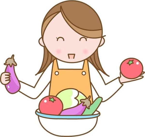 私は野菜中心の食事にして、なるべく脂っこい食事やジャンクフードを減らしました。